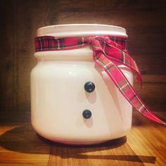 Snowman Mason Jar - christmas decor - christmas gifts - holiday centerpieces - stocking stuffers - snowman gifts