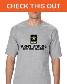 Ugo U.S. Army Star Army Strong Proud Army Grandma Match w Flag Hat Backpack Ultra Cotton Unisex T-Shirt Tall Sizes - Relatives and family shirts (*Amazon Partner-Link)