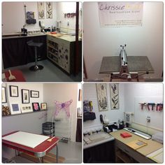 Check out my newly renovated printmaking studio. I can already feel new artwork being created.