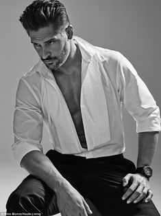 Chest a minute: The Magic Mike XXL star flashed a glimpse of his muscles in an open tuxedo shirt
