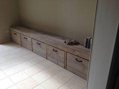 Stockage bois d'échafaudage - PURE Wood Design