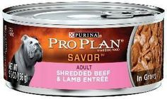 Pro Plan Adult Shredded Beef-Lamb Can Dog 24-5.5oz
