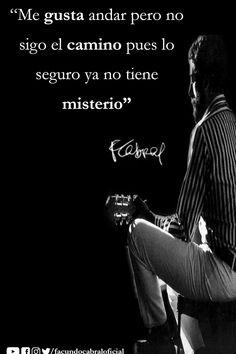 Recital, Channel, Movie Posters, Movies, Facundo Cabral, Rock Quotes, Attitude, Qoutes Of Life, Interview