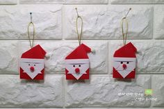산타클로스 할아버지 종이접기 흰수염 산타클로스 접기 : 네이버 블로그 Advent Calendar, Origami, Christmas Ornaments, Holiday Decor, Home Decor, Holiday Decorating, Decoration Home, Room Decor, Advent Calenders