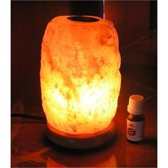 Salt Lamp Essential Oil Diffuser : 1000+ images about massage room ideas on Pinterest Bed bath & beyond, Curtains on sale and Massage
