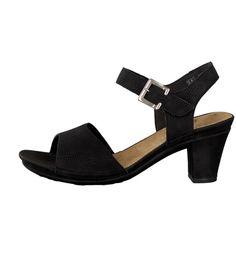 Rieker Damen Sandalette schwarz 64389-00