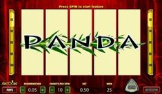 Wild Panda online slot machine pictures and slot feature list from NYX, play Wild Panda Slots for free. Panda Online, Wild Panda, Coin Values, Wild Ones, Slot Machine, Panda Bear, Free Games, Nyx, Play