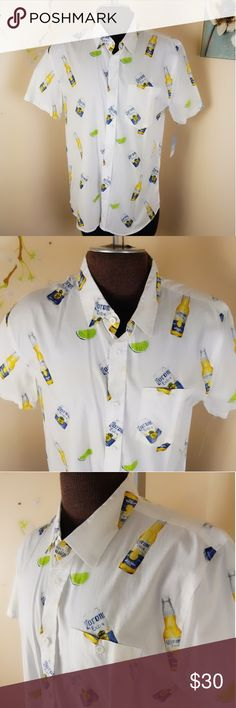 corona bottle New Corona button down Mens XL I really like this Corona shirt. New button down with Corona bottles and Limes Pit to pit 23 Length 32 Shoulder to shoulder 19 Corona Shirts Casual Button Down Shirts Corona Drink, Corona Bottle, Casual Button Down Shirts, Casual Shirts, Corona Shirt, Crown Headband, Limes, Mens Xl, Fashion Design
