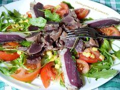 Salade de gésiers de canard confit http://www.carmen-cuisine.com/2016/07/salade-de-gesiers-de-canard-confit.html