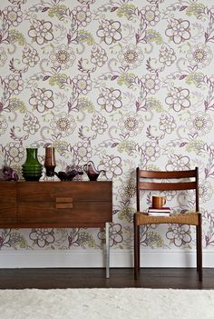 Pretty Jane #wallpaper design from our very own Albany brand.