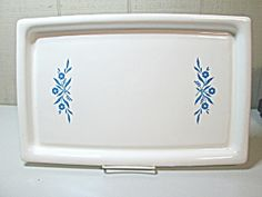 Vintage Corning Ware Cornflower Blue Broil Bake Tray