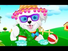 Cute little Puppy Care Baby Puppy Bathing Caring Games Cute Little Puppies, Baby Puppies, Cute Puppies, Cartoon Games, Cartoon Kids, My Little Pony Dress, Baby Pony, Grooming Salon, Pony Horse