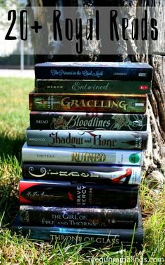 Great (most) YA reading list full of books with royalty and castle settings. SO fun! Ya Books, I Love Books, Great Books, Books To Read, Book Tv, The Book, Book Nerd, Book Series, Books For Teens