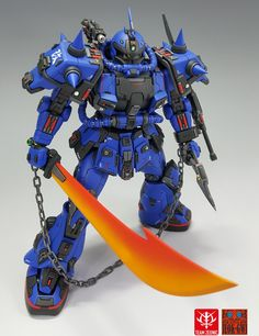 Zaku II (Predator) // by Team Zeonic - Tag to get featured! Gundam Toys, Gundam Build Fighters, Gundam Mobile Suit, Gundam Custom Build, Kool Kids, Gunpla Custom, Suit Of Armor, Gundam Model, Anime Figures