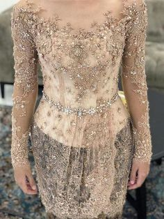 59 Trendy Ideas For Embroidery Dress Outfit Beautiful Vera Kebaya, Kebaya Lace, Batik Kebaya, Kebaya Dress, Batik Dress, Dress Lace, Kebaya Modern Hijab, Model Kebaya Modern, Kebaya Hijab