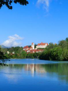 The wonderful city of #Fuessen in Germany. Directly near the #Neuschwanstein Castle.