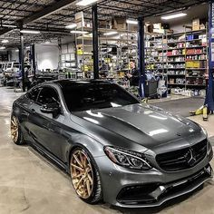 """C63 AMG """"Normally I'm not a big Mercedes fan BUT, in this case I must admit exception. SWEET WHEELS!! NIIICE!!"""