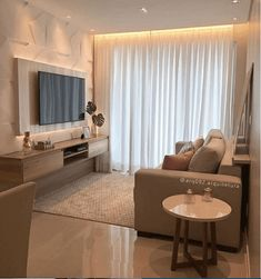 Compact and super cozy room, with the lighting even more enhancing the . Small Living Rooms, Home Living Room, Living Room Decor, Home Room Design, Home Interior Design, Living Room Tv Unit Designs, Cozy Room, Apartment Interior, Home Decor