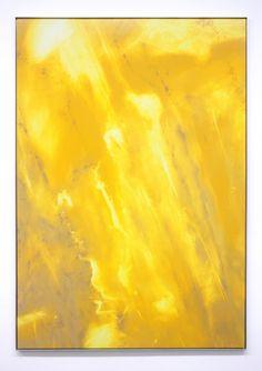 "Dimension Stone XXI, The Rotten Sun  2011  Oil on Canvas, Aluminum Frame  62.5"" X 43.5"" (158.75 cm X 110.5 cm)"