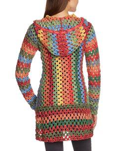 Fabulous Crochet a Little Black Crochet Dress Ideas. Georgeous Crochet a Little Black Crochet Dress Ideas. Crochet Diy, Pull Crochet, Mode Crochet, Crochet Cardigan Pattern, Crochet Jacket, Crochet Poncho, Crochet Bodycon Dresses, Black Crochet Dress, Crochet Tank Tops