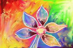 This is a paint by Jeremy Aiyadurai, The idea of flower can be utilized on the surface of my plates.