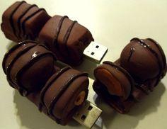 Chiavetta usb pendrive memory card decorata in fimo
