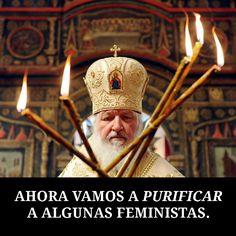 Alerta Religión: Peligroso feminismo