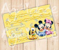 Convite Virtual Disney Baby