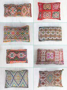 nueva colección - cojines bereberes. berber cushions. dar amïna shop