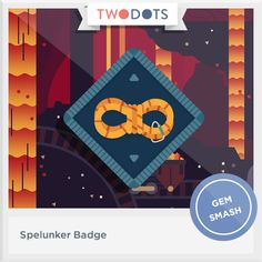 I delved into the depths and earned my Spelunker Badge  - playtwo.do/ts