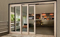 23 Incredible Sliding Glass Door Design For Amazing Front Door Inspiration Sliding Door Design, Sliding Patio Doors, Entry Doors, Sliding Windows, Folding Doors, Front Doors, Upvc Windows, Aluminium Sliding Doors, Screen Doors