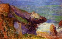 by Paul Gauguin in oil on canvas, done in . Now in a private collection. Find a fine art print of this Paul Gauguin painting. Paul Gauguin, Henri Matisse, Impressionist Artists, Pierre Bonnard, Oil Painting Reproductions, Art Moderne, Klimt, French Art, Tahiti
