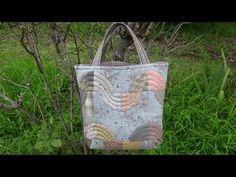 """パッチワーク Patchwork Quilt Vol11""""Easy Drunkard's Path pattern.bag """"「スピーディにドランカーズパズのバッグ」Felisa Quilts - YouTube"""