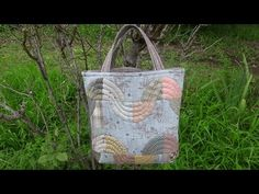 "パッチワーク Patchwork Quilt Vol11""Easy Drunkard's Path pattern.bag ""「スピーディにドランカーズパズのバッグ」Felisa Quilts - YouTube"