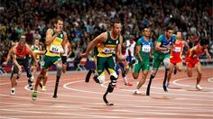 The penultimate action on the track tonight sees Oscar Pistorius v Cardoso Oliveira MKII as both men are running the final leg for South Africa and Brazil in the men's metres relay final. Live Picture, Picture Blog, Today Pictures, Scientific American, How To Be Outgoing, Carbon Fiber, The Man, Victorious, Olympics