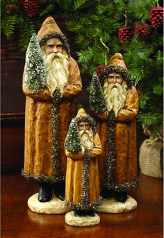 In a Perfect World. Primitive Country Christmas, Primitive Santa, Black Christmas, Christmas Past, Vintage Christmas Ornaments, Father Christmas, Primitive Christmas, Christmas Items, Christmas Images