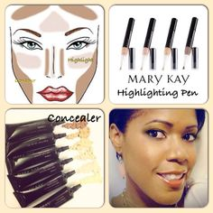 Highlight & Contour by Mary Kay Mary Kay® contouring essentials! | Contact me today to let me show you how to create a contoured look. Jennifer Emanuel, Mary Kay Sales Director, Facebook: www.facebook.com/jenniferemanuelmk, Website: www.marykay.com/jennemanuel, Call: 214-405-2512