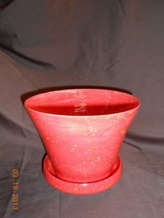 Flower Pot/Planter by kinzerellascreations on Etsy, $30.00