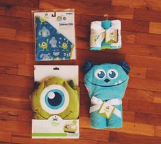 Monsters, Inc. Themed Basket: A Cute Shower Gift!