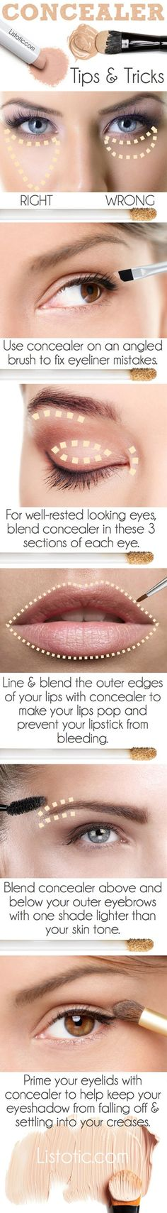The Right Way To Use Your Concealer