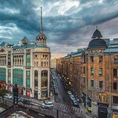 It looks near Admiralty and Nevskuu Prospekt