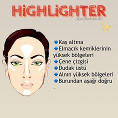 #repost #instagram #instagramstory #pinterest #makeup #makyaj #makyajfikirleri #makeup  #face #highlights #beautyblog Beauty Box, Beauty Secrets, Diy Beauty, Beauty Makeup, Hair Icon, Beauty Treats, Healthy Skin Care, Makeup Blog, Homemade Beauty
