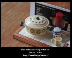 """creado por la cocina de madera Lien trabajo ~♡ ♡ """"Juego de cocina"""""""