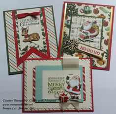 Creative Stamping & Crafts with Margaret: Vintage Theme Christmas
