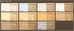 Rust-Oleum-thinking about picking up one of these kits from the hardware store to transform my kitchen cabinets. No sanding/stripping, which sounds good to me!
