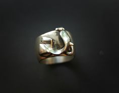 Vespa Moped Scooter Ring. Oh yes....SO on my wish list!