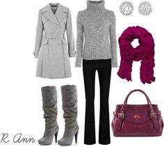 """gray"" by rachelann34 on Polyvore"