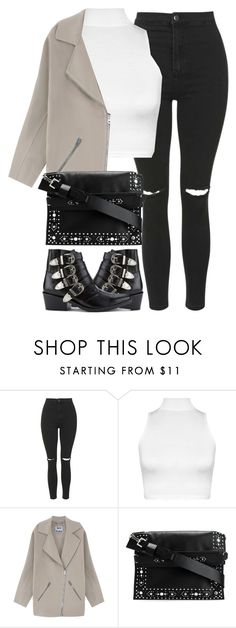 """Untitled #3840"" by maddie1128 ❤ liked on Polyvore featuring Topshop, WearAll, Acne Studios, Givenchy and Toga"