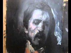 ▶ How to paint a Caravaggio head in 5 minutes, finger blurring and chiaroscuro - YouTube