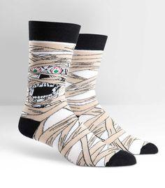 Mummy Wrap Crew Socks